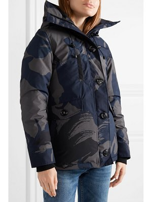 Canada Goose rideau camouflage-print down parka