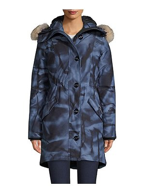 Canada Goose rossclair coyote fur trimmed hooded parka