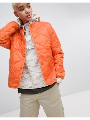 Carhartt wip quilted liner jacket in ripstop