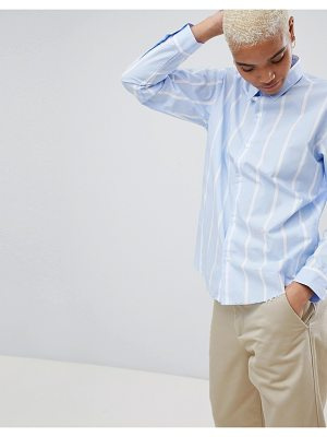 Carhartt WIP Stripe Shirt With Embroidered Logo