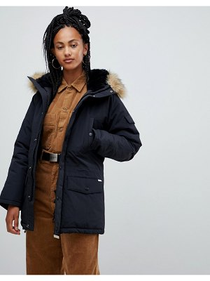Carhartt wip parka with removable faux fur hood
