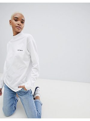 Carhartt wip relaxed fit top with logo