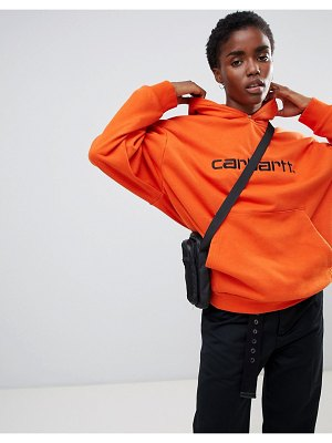 Carhartt wip relaxed hoodie with logo