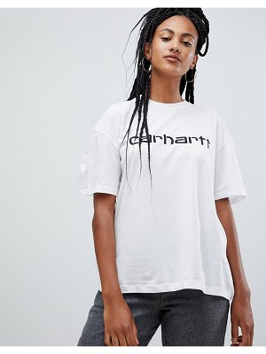 Carhartt wip relaxed t-shirt with logo