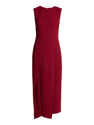 CARL KAPP franklin wool crepe dress
