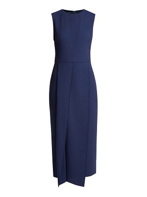 CARL KAPP Franklin wool-crepe dress