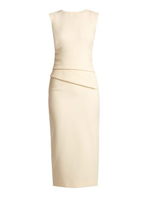 CARL KAPP Luna wool-crepe dress