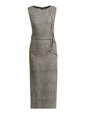 CARL KAPP nectar folded panel midi dress