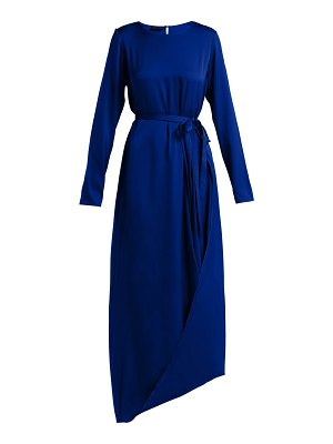 CARL KAPP Topaz silk-blend dress