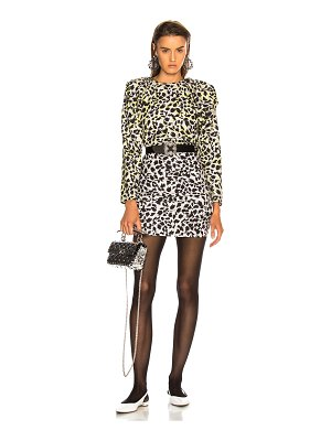 Carmen March leopard dress