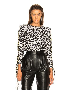 Carmen March Leopard Top