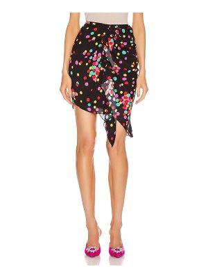 Carmen March ruched skirt
