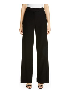 Carolina Herrera wide leg crepe pants