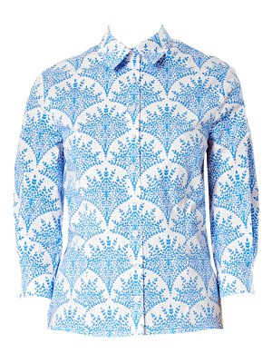 Carolina Herrera classic printed button down shirt