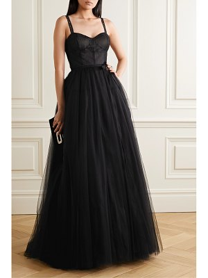 Carolina Herrera embroidered tulle gown