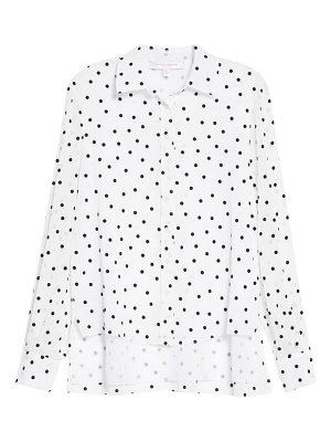 Carolina Herrera polka dot shirt