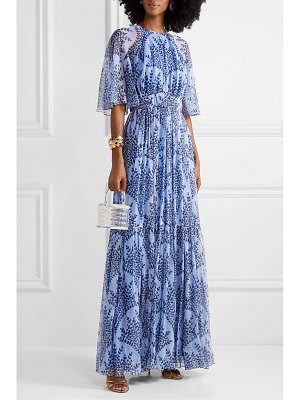 Carolina Herrera printed silk-georgette gown
