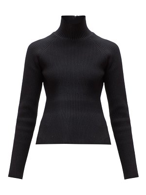 Carolina Herrera roll neck ribbed sweater