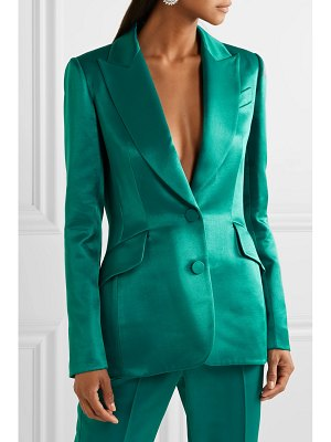 Carolina Herrera satin-twill blazer