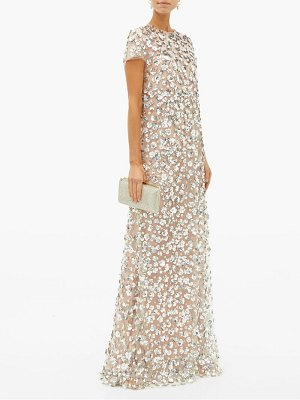 Carolina Herrera sequin embellished tulle gown