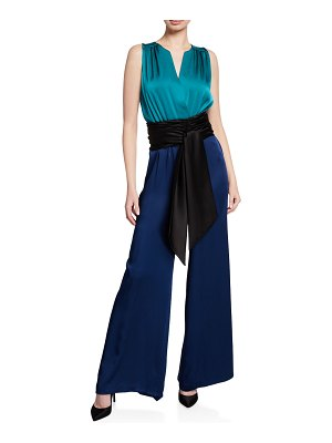 Carolina Ritzler Irma Sleeveless Jumpsuit