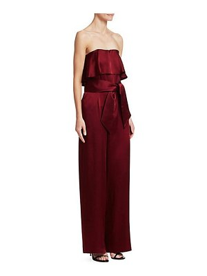 Carolina Ritzler julie strapless popover jumpsuit