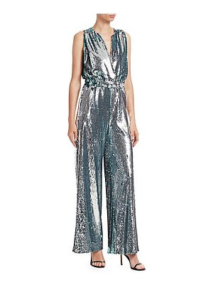 Carolina Ritzler sleeveless sequin jumpsuit
