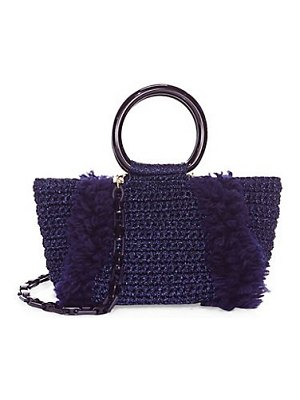 Carolina Santo Domingo crochet satchel