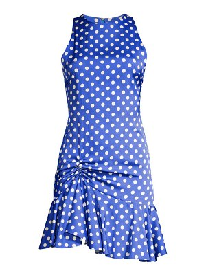 Caroline Constas audrina polka dot mini dress