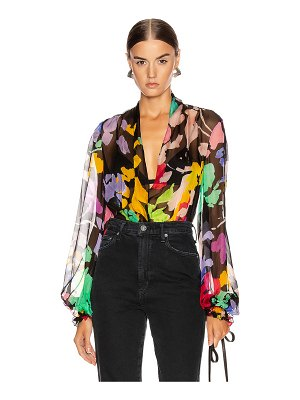 Caroline Constas bette blouse