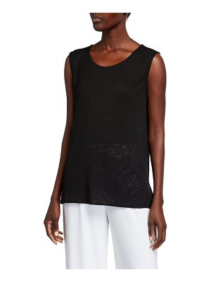 Caroline Rose Classic Gauze Knit Longer Tank