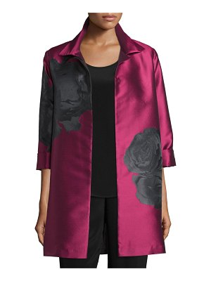Caroline Rose Rio Rose Open-Front Party Jacket