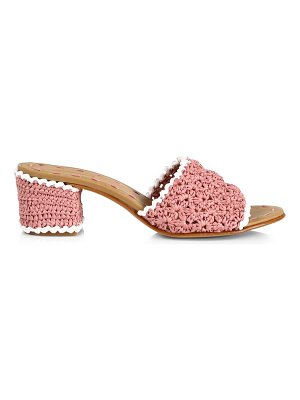 CARRIE FORBES abdel raffia mules