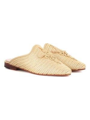 CARRIE FORBES Raffia slippers