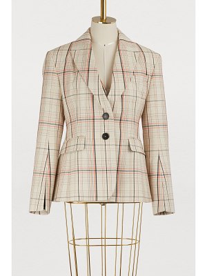 Carven Checked jacket