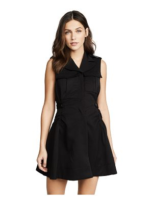 Carven flared mini dress