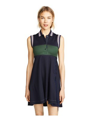 Carven mini polo dress