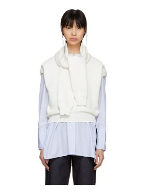 Carven Oversized Wrap Sweater