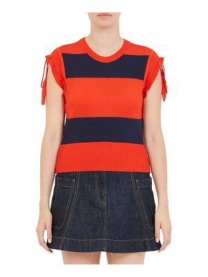 Carven rugby striped tank