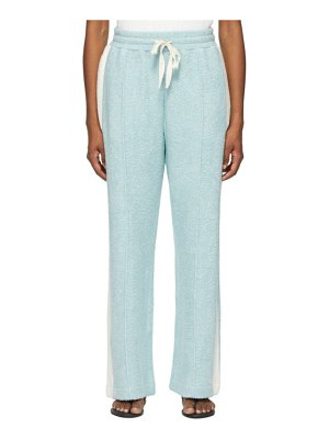 Casablanca ssense exclusive blue terry flared lounge pants