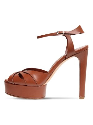 Casadei 120mm florence leather sandals