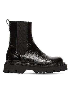 Casadei 40mm generation x leather chelsea boots