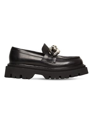 Casadei 40mm generation x leather loafers