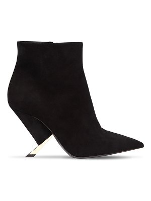 Casadei 90mm x blade suede ankle boots