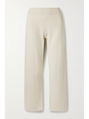 CASASOLA assisi cropped cashmere pants