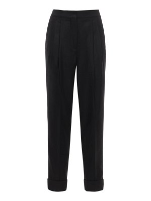 CASASOLA High waist wool & silk pants