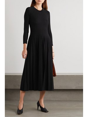 CASASOLA net sustain ali ribbed stretch-knit midi dress