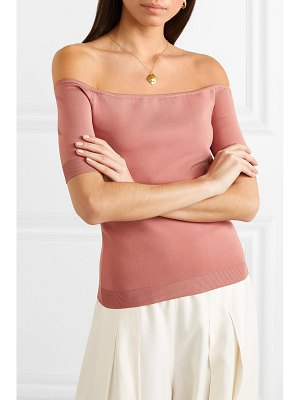 CASASOLA off-the-shoulder stretch-knit top