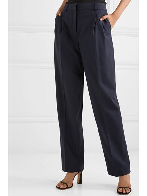 CASASOLA pleated wool tapered pants