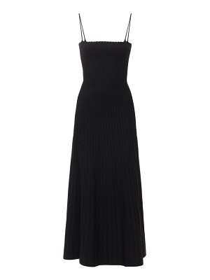 CASASOLA Viscose blend knit midi dress